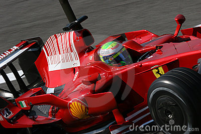 Massa on ferrari f1 Editorial Image