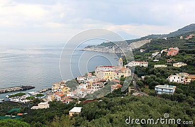 Massa Lubrense, the Amalfi Coast, Italy