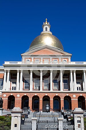 Massachusetts statehouse stock photo image 45884660 for Building a house in ma