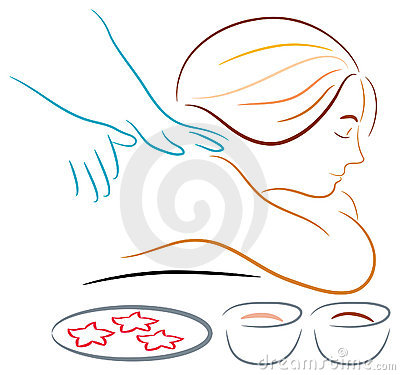 Massage Vector Illustration