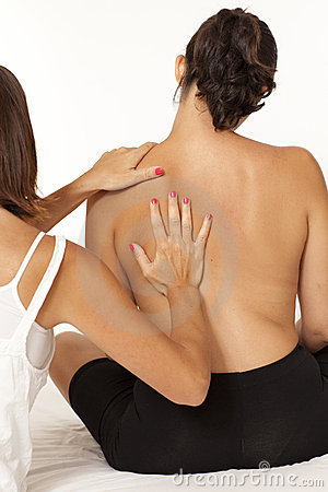 Massage of back