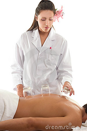 Free Massage Cupping Stock Images - 592144