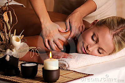 Massage de shuolder