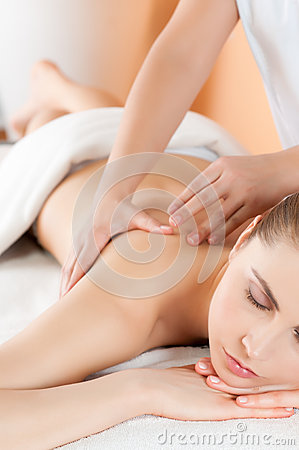 Massage at health club