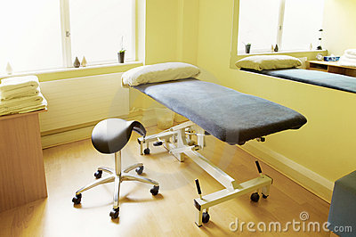 Massage, physiotherapy, acupuncture treatment room