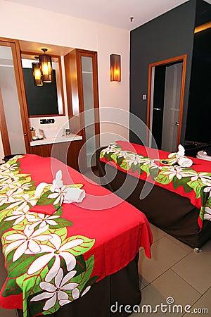 ζεύγος massage room spa
