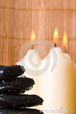 Free Massage Stones Stock Photography - 3531102