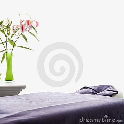 Free Massage Table. Royalty Free Stock Photography - 2425447