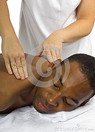 female masseuse