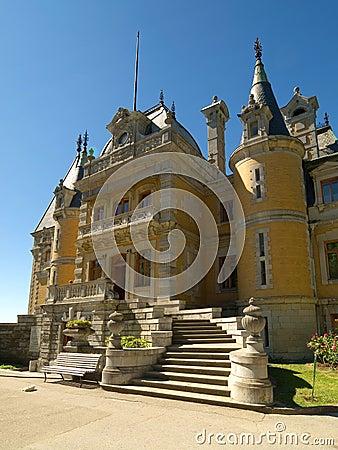 Massandra Palace in Yalta, Crimea
