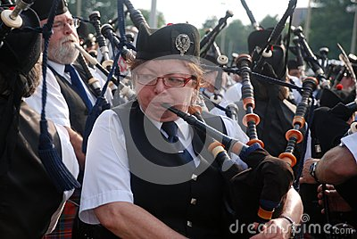 Massed Bands Editorial Photography