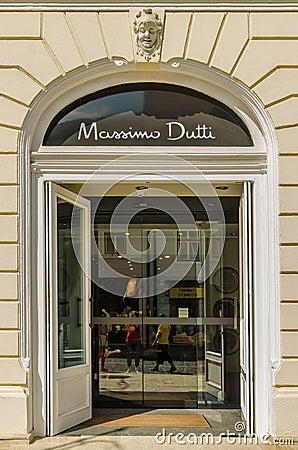 Massimo Dutti Store Editorial Image