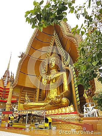 Massive Buddha Statue