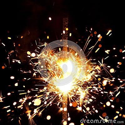 Massive firework