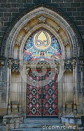Free Massive Gothic Portal Royalty Free Stock Image - 2646236