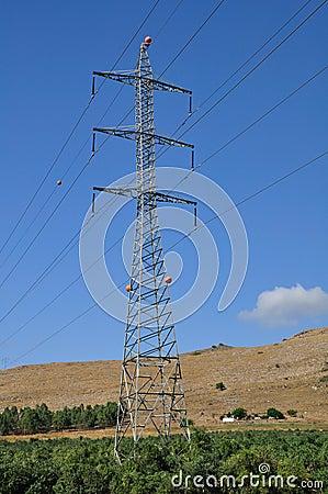 Massive pylon.