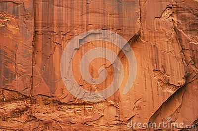 Massive sandstone wall,texture.