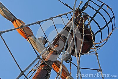 Mast of the sail