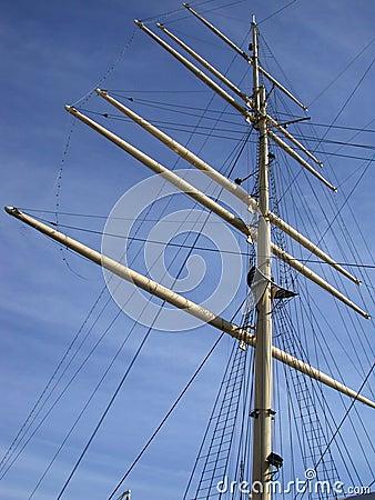 Mast van een Lang Schip