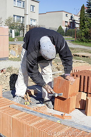 Free Master Bricklayer Stock Photography - 5589452