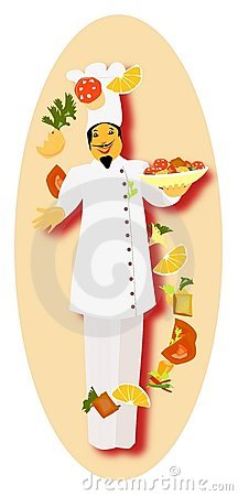 Free Master Chef Ready To Prepare Special Dish Stock Photos - 9913193