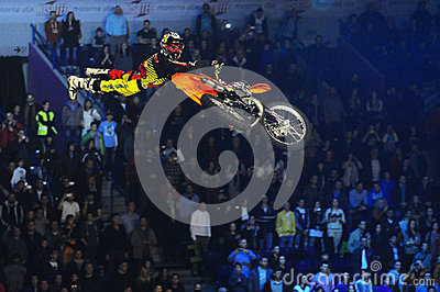 Masters of dirt moto show Editorial Image