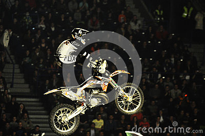 Masters of dirt moto show Editorial Stock Image