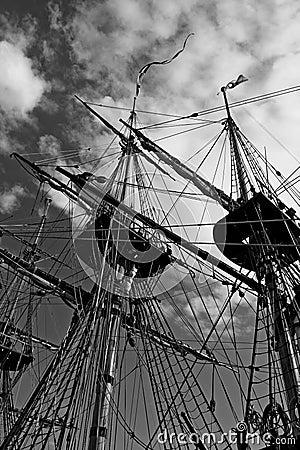 Free Masts Royalty Free Stock Image - 2298536