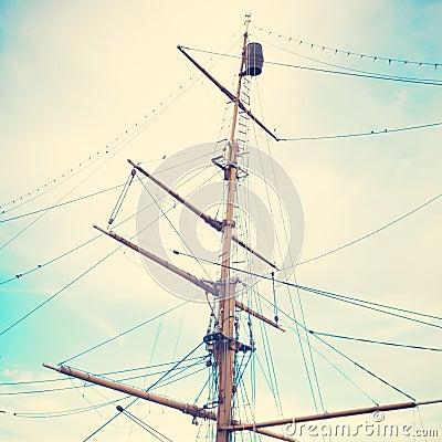 Free Masts Royalty Free Stock Image - 42470506