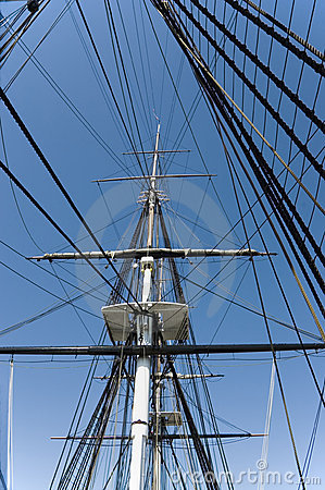 Free Masts And Rigging 1 Royalty Free Stock Photos - 288648