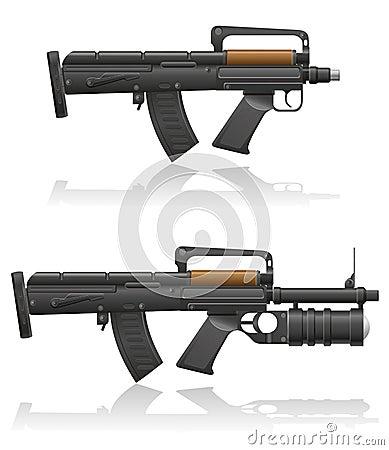 Maszynowy pistolet