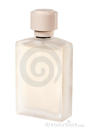 Mat perfume bottle