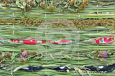 Mat of plants