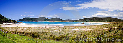 Matai Bay Panorama 1, Northland, New Zealand