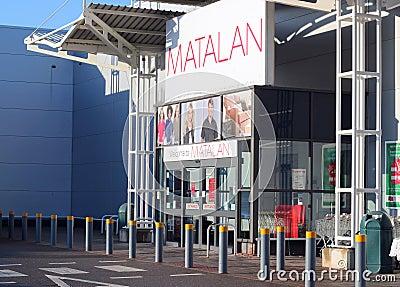 Matalan store. Editorial Image