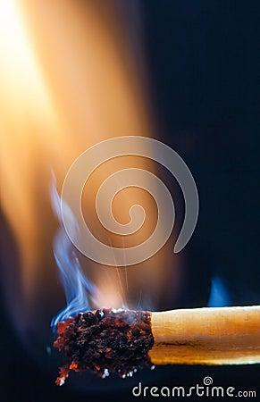 Match burn