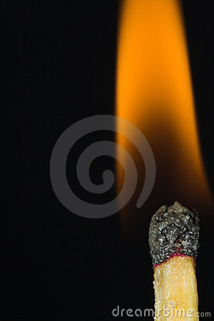 Free Match Fire Closeup Stock Photos - 597873