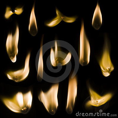 Free Match Fire Set Royalty Free Stock Photo - 14136725