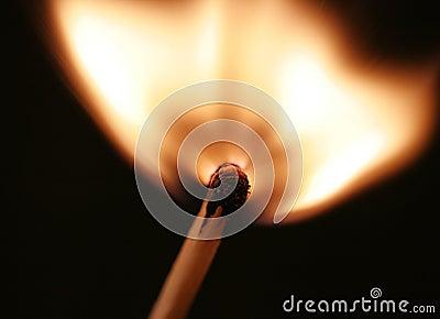 Match flare