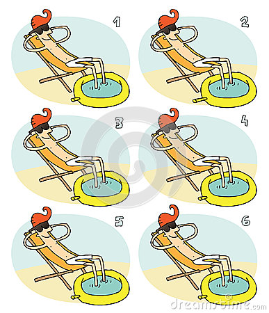 Match Pairs Visual Game: Small Pool