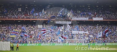 Before the match Sampdoria - Inter Editorial Stock Image