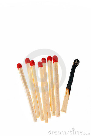 Free Matches Royalty Free Stock Photography - 12223577