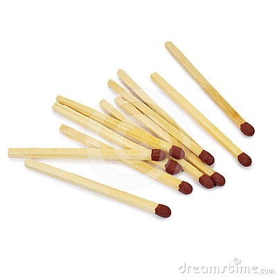 Free Matches. Royalty Free Stock Photos - 24439778