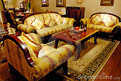 matching antique furniture