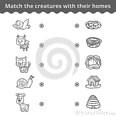 Animals And Their Homes Worksheet - The Best and Most Comprehensive ...