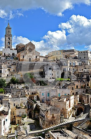 Free Matera In Italy Stock Images - 30337154