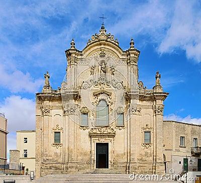 Matera Kirche San Francesco d Assisi