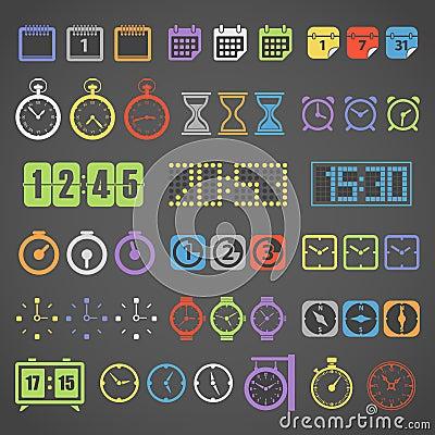 Materia de medición de diverso color