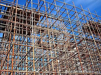 Material till byggnadsställning