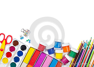 Materials for children s creativity